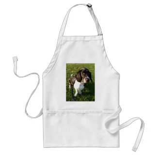 Adorable Basset Hound Snoopy Standard Apron