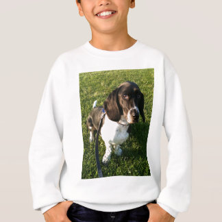 Adorable Basset Hound Snoopy Sweatshirt