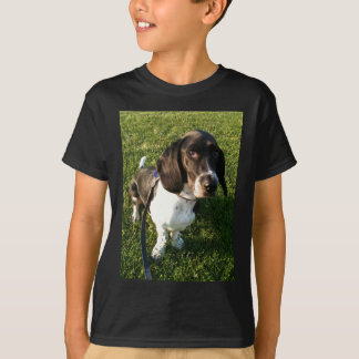 Adorable Basset Hound Snoopy T-Shirt