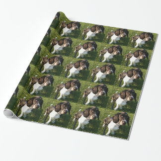 Adorable Basset Hound Snoopy Wrapping Paper