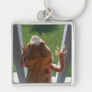 Adorable Bearded Dragon Photo Print Key Ring
