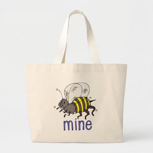 Adorable Bee Mine Valentine Tees and Gifts Bag