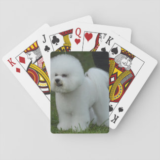Adorable Bichon Playing Cards