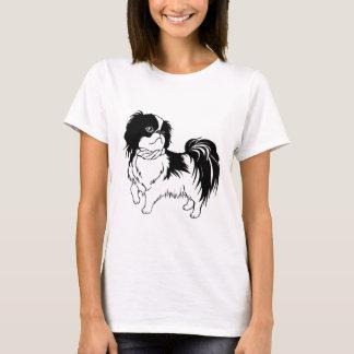 Adorable Black and White Dog Shirt