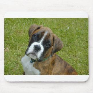Adorable Boxer Puppy Mousemat