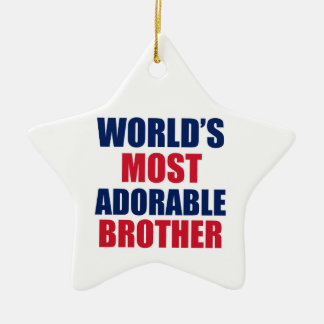 Adorable brother ornaments