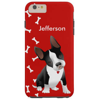 Adorable Bull Terrier Puppy iPhone 6 Plus Case