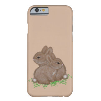 Adorable Bunnies in Clover Barely There iPhone 6 Case