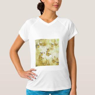 Adorable Butterflies, yellow T-Shirt