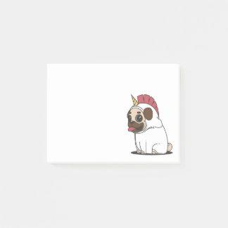 Adorable Cartoon Pug Dog Post-it Notes