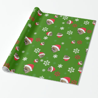 Adorable Chihuahua Christmas Pattern Wrapping Paper