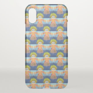 Adorable Christmas Angels | iPhone X Case