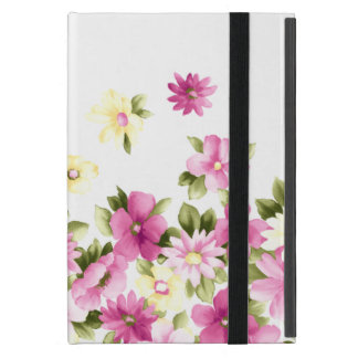 Adorable Colorful Girly Blooming Flowers Case For iPad Mini