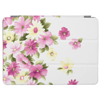 Adorable Colorful Girly Blooming Flowers iPad Air Cover