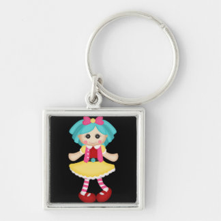 Adorable Colorful Raggedy Doll Key Chains