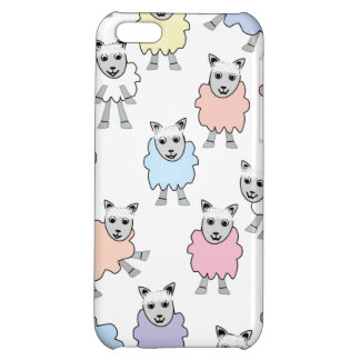 Adorable Colorful Sheep iPhone 5C Cover