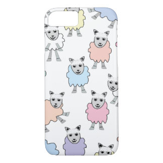 Adorable Colorful Sheep iPhone 7 Case