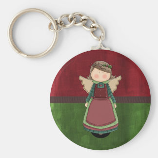 Adorable Country Angel Doll Keychains