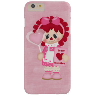 Adorable Country Valentine Rag Doll Barely There iPhone 6 Plus Case
