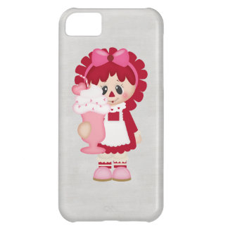 Adorable Country Valentine Rag Doll iPhone 5C Case