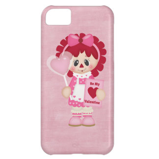 Adorable Country Valentine Rag Doll iPhone 5C Cover