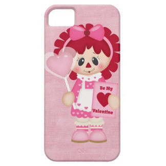 Adorable Country Valentine Rag Doll iPhone 5 Covers