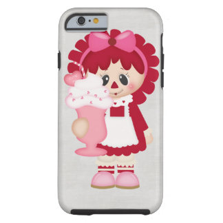 Adorable Country Valentine Rag Doll Tough iPhone 6 Case