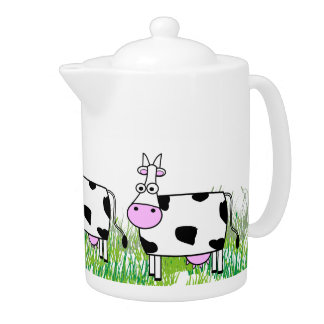 Adorable Cows Teapot