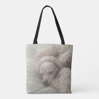 Adorable Cozy Chihuahua Tote Bag