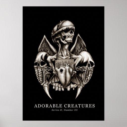 Adorable Creatures II-III Posters