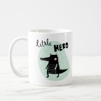 Adorable crocodile coffee mug