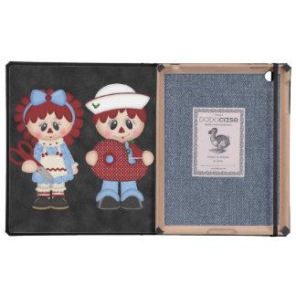 Adorable Custom Christmas iPad Folio Case