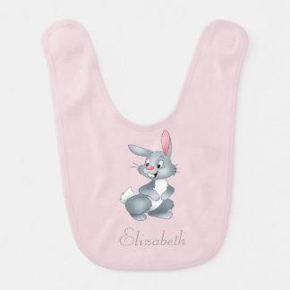 Adorable Cute Baby Bunny -Personalized Bib