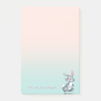 Adorable Cute Cartoon Bunny Post-it Notes