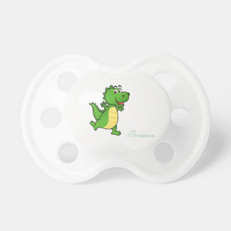 Adorable Cute,Cartoon Crocodile -Personalized Baby Pacifiers