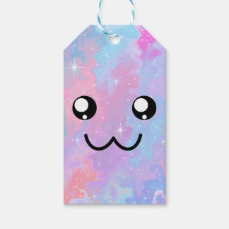 Adorable Cute Face Kawaii Pastel Magical Gift Tags