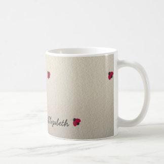 Adorable Cute ,Ladybug,Luminous-Personalized Coffee Mug