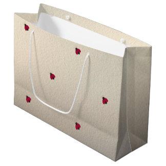 Adorable Cute ,Ladybugs,Luminous Large Gift Bag