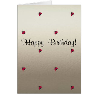 Adorable Cute ,Ladybugs,Luminous-Personalized Card