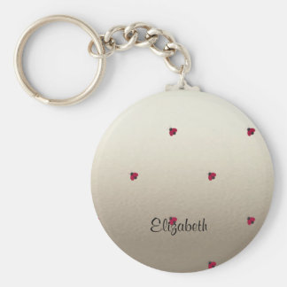 Adorable Cute ,Ladybugs,Luminous-Personalized Key Ring