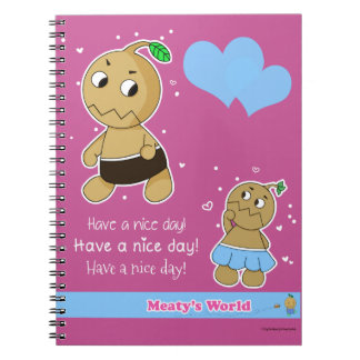 Adorable, cute notebook for childern