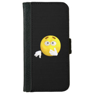 Adorable Did I Say That Emoji iPhone 6 Wallet Case