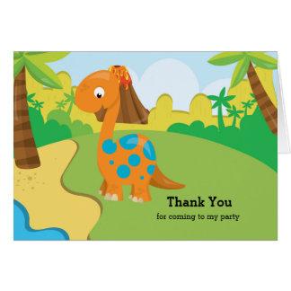 Adorable Dinosaur Card
