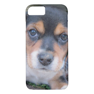 Adorable Dirty Nose Beagle Pup iPhone 7 Case