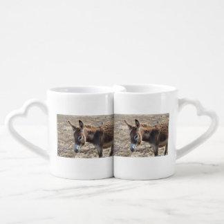 Adorable Donkey Coffee Mug Set