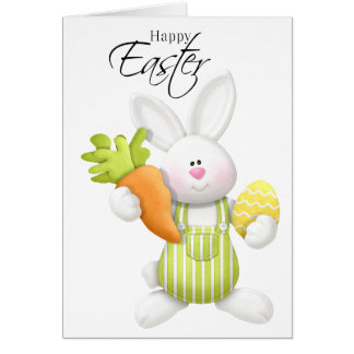 Adorable Easter Bunny Card