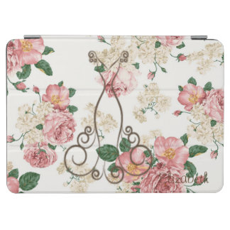 Adorable Elegant Dress,Floral Pattern-Personalized iPad Air Cover