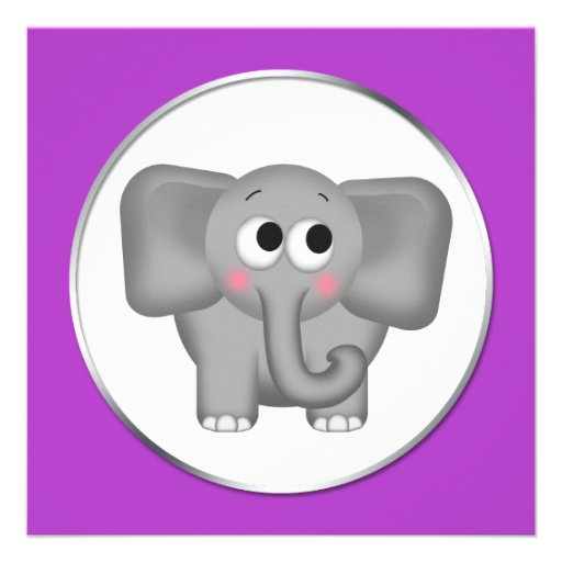 Baby Boy Elephant Invitations was good invitations design