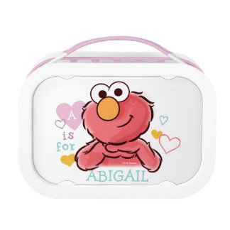 Adorable Elmo | Add Your Own Name Lunch Box