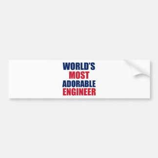 Adorable Engineer Bumper Stickers